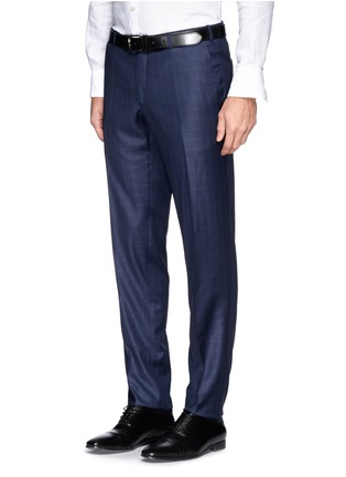 Detail View - Click To Enlarge - ISAIA - 'Cortina' check wool suit