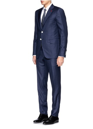 Figure View - Click To Enlarge - ISAIA - 'Cortina' check wool suit