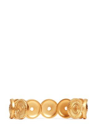 EDDIE BORGO-Medallion cuff