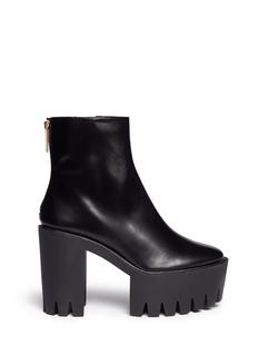 STELLA MCCARTNEYTread sole platform ankle boots