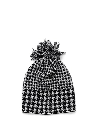Figure View - Click To Enlarge - Stella McCartney - Mix houndstooth star beanie
