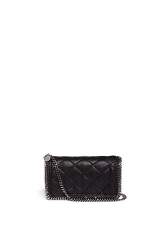 STELLA MCCARTNEY Falabella quilted crossbody chain bag