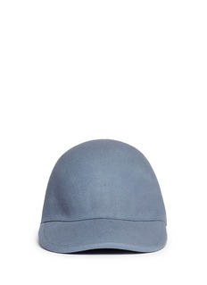 STELLA MCCARTNEYWool felt baseball cap