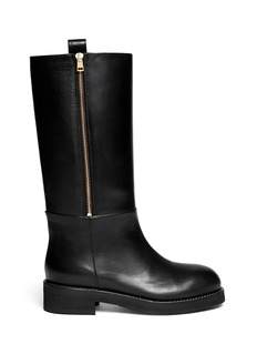 MARNILeather zip boots
