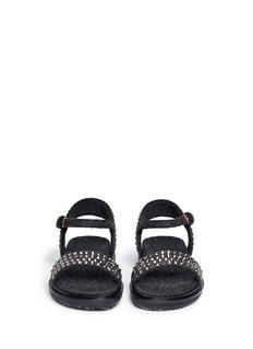 MARNICrystal felt band sandals