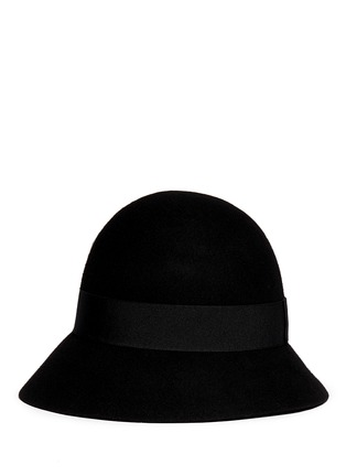 Figure View - Click To Enlarge - Stella McCartney - Wool felt cloche hat