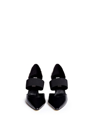Figure View - Click To Enlarge - Stella McCartney - Elasticated band d'Orsay pumps