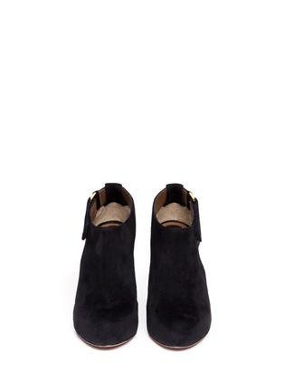 Figure View - Click To Enlarge - Marni - Cutout suede booties