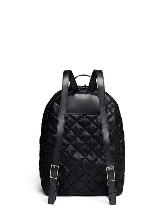 Back View - Click To Enlarge - Stella McCartney - 'Falabella' quilted backpack