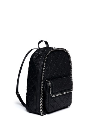 Front View - Click To Enlarge - Stella McCartney - 'Falabella' quilted backpack