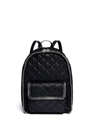 Main View - Click To Enlarge - Stella McCartney - 'Falabella' quilted backpack