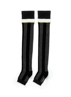 MARNIStripe cotton toeless socks