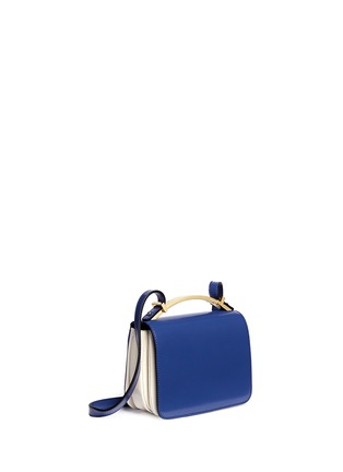 Detail View - Click To Enlarge - Marni - 'Sculpture' duo-colour shoulder bag