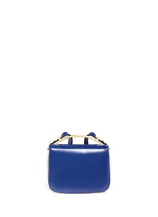 Back View - Click To Enlarge - Marni - 'Sculpture' duo-colour shoulder bag