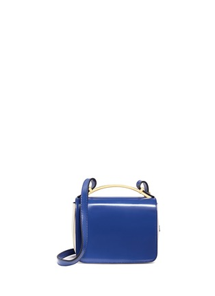 Main View - Click To Enlarge - Marni - 'Sculpture' duo-colour shoulder bag