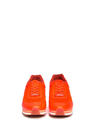 Figure View - Click To Enlarge - Stella McCartney - Fluo mesh sneakers