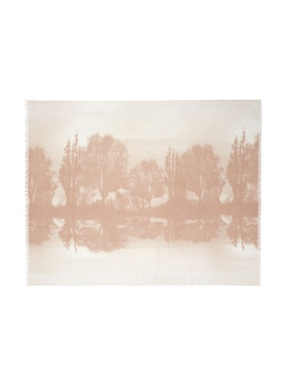 Detail View - Click To Enlarge - Stella McCartney - Hampstead landscape print modal-silk scarf