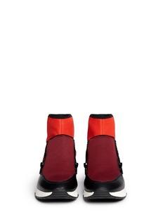 ASH'Liu' leather counter neoprene sneakers