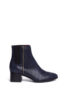 OPENING CEREMONY Suede pixelate ankle boots