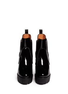 MARC BY MARC JACOBS'Street Smart' Patent leather Chelsea boots