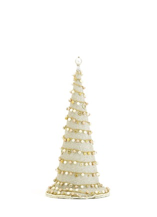 Main View - Click To Enlarge - ELIOT RAFFIT - Grande Dangling Topiary Christmas ornament