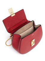 'Drew' mini leather shoulder bag
