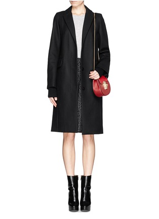 Figure View - Click To Enlarge - Chloé - 'Drew' mini leather shoulder bag