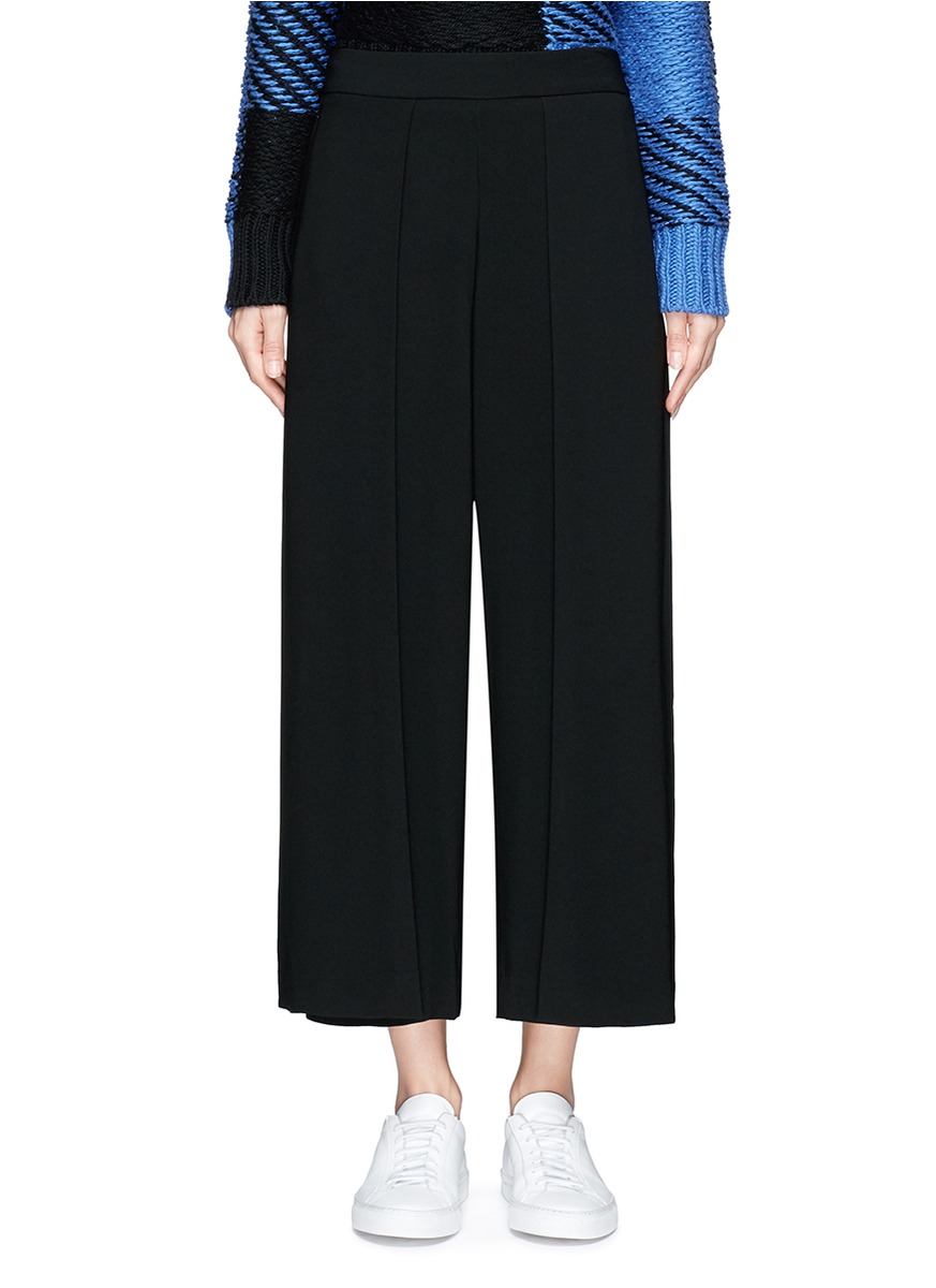 Rowe wide leg crepe pants by rag & bone