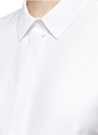 Detail View - Click To Enlarge - rag & bone - 'Ara' tie back blouse