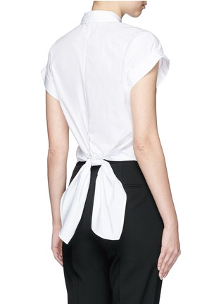 Back View - Click To Enlarge - rag & bone - 'Ara' tie back blouse
