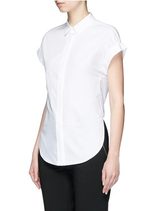 Front View - Click To Enlarge - rag & bone - 'Ara' tie back blouse