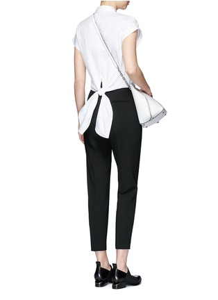 Figure View - Click To Enlarge - rag & bone - 'Ara' tie back blouse