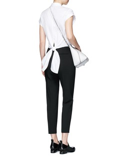 rag & bone 'Ara' tie back blouse