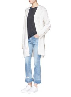 rag & bone'Kiera' wool-cotton cardigan coat