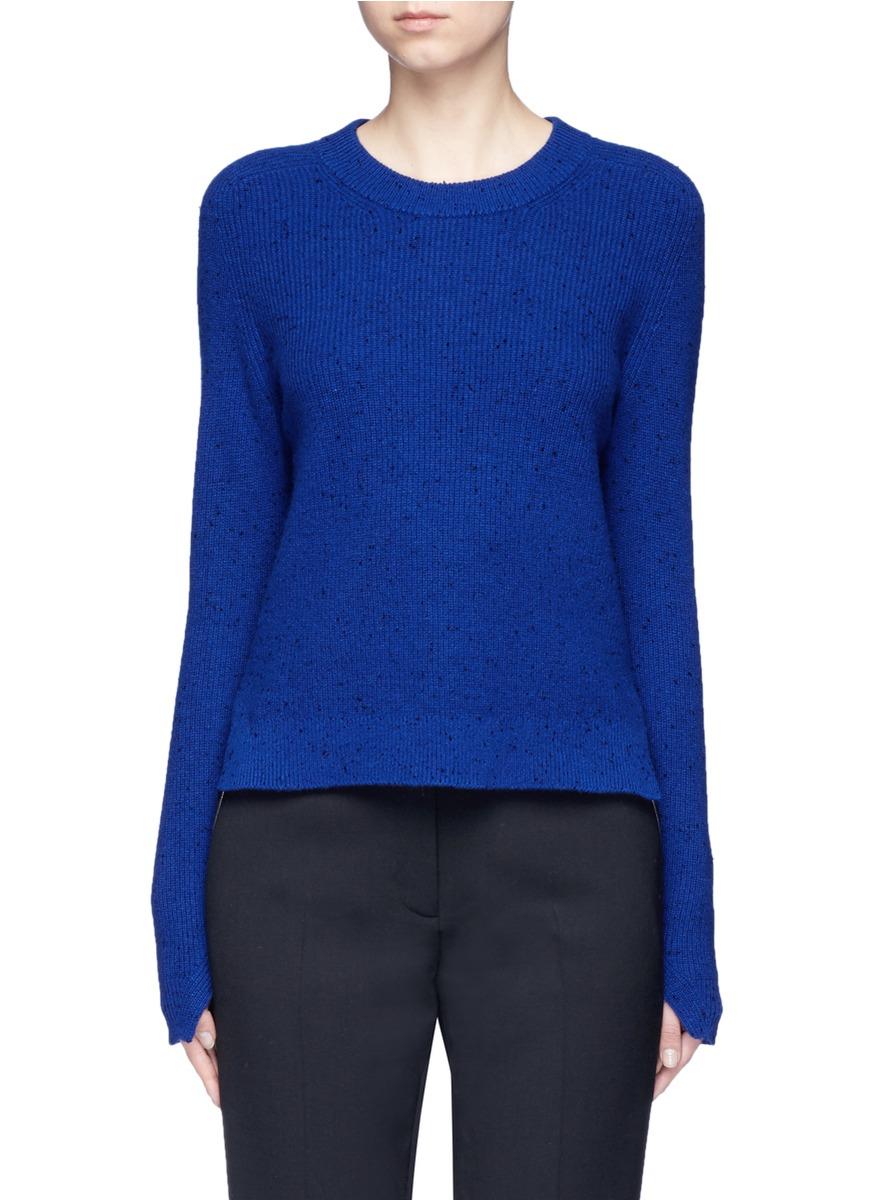 Valentina slub cashmere sweater by rag & bone