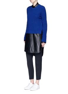 rag & bone'Valentina' slub cashmere sweater