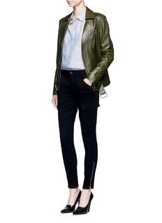 J Brand'Houlihan' skinny fit zip cuff cargo pants