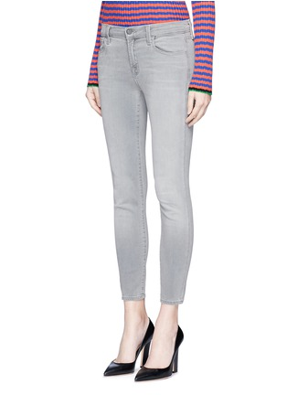Front View - Click To Enlarge - J Brand - 'Capri Photo Ready' cropped skinny jeans