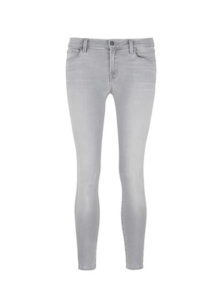 Main View - Click To Enlarge - J Brand - 'Capri Photo Ready' cropped skinny jeans