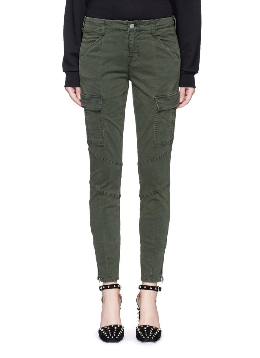 Houlihan slim fit zip cuff cargo pants by J Brand