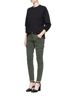 J Brand'Houlihan' slim fit zip cuff cargo pants