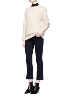 J Brand 'Photo Ready Selena' cropped flare jeans