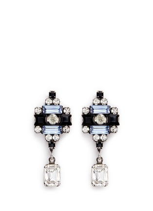 Main View - Click To Enlarge - Dannijo - 'Aix' Swarovski crystal drop earrings