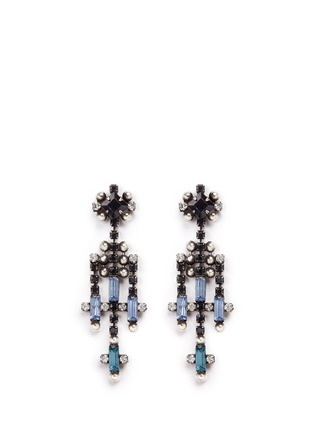 Main View - Click To Enlarge - Dannijo - 'Adore' Swarovski crystal chandelier drop earrings