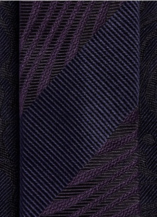 Detail View - Click To Enlarge - Dries Van Noten - Psychedelic jacquard silk tie
