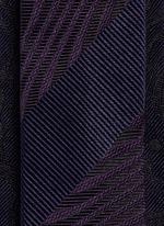 Psychedelic jacquard silk tie