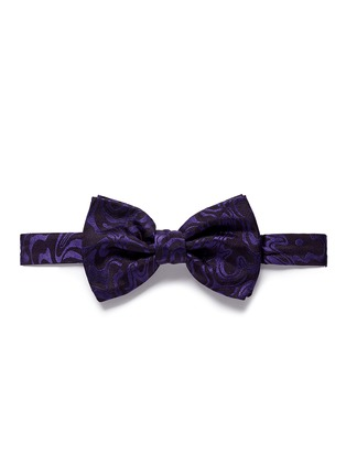 Main View - Click To Enlarge - Dries Van Noten - Psychedelic jacquard bow tie