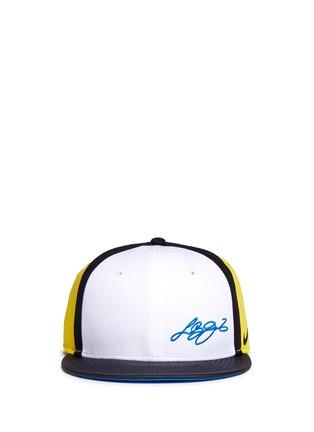 Main View - Click To Enlarge - Nike - 'LeBron 13 True' colourblock baseball cap