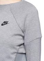 'Tech Fleece Mesh Crew' sweatshirt