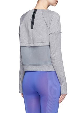 Nike-'Tech Fleece Mesh Crew' sweatshirt